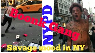 Boonk gang vines in Newyork      Destroyed vendors in NYC