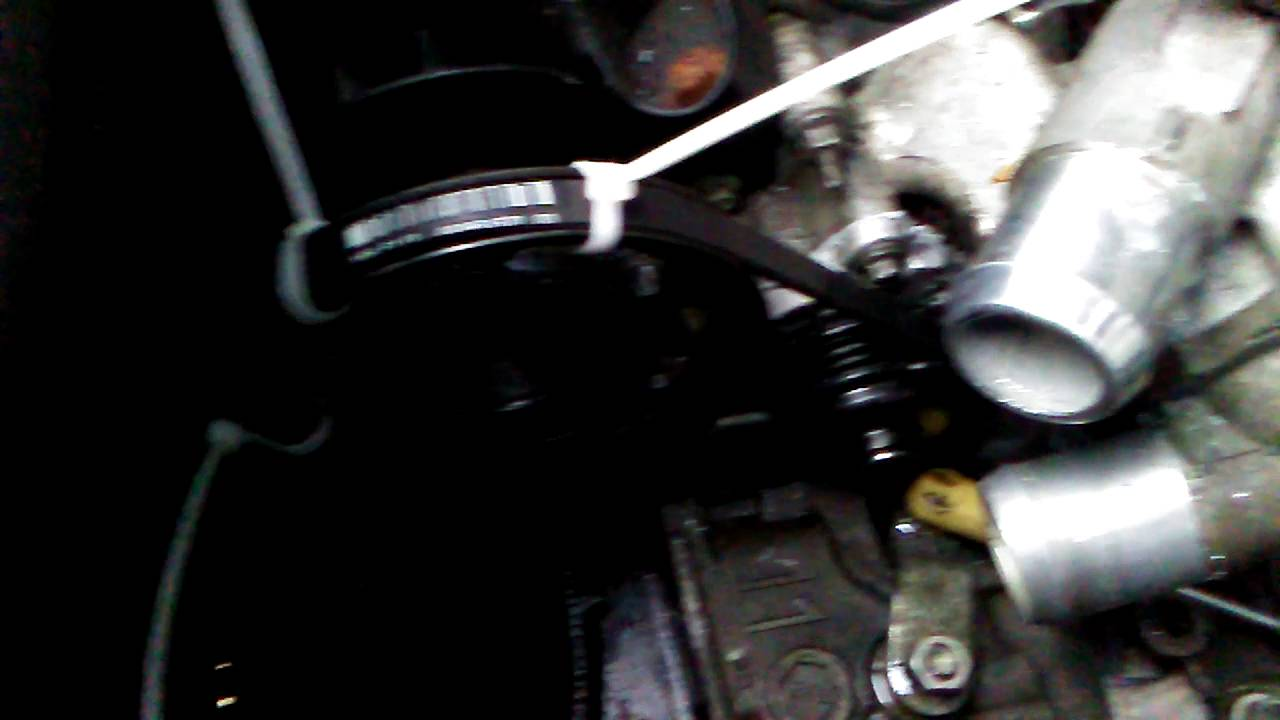 Tutorial 2010 Ford Escape Water Pump Belt Put It On The Easy Way Mazdatributebeltdiagram Tags Belts Idler Pulley Mazda Youtube