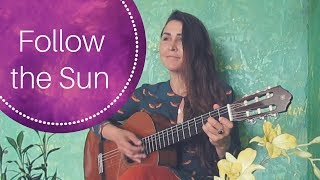Follow the Sun cover | Xavier Rudd Australia Song in English and Russian | Chords and Lyrics