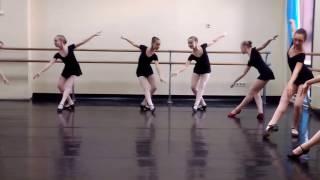 Экзамен по народному танцу. 05.04.2017