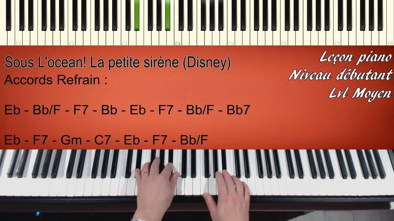 Lecon de piano - 4 3