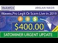 Wawex.pro Free Bitcoin Cloud Mining Site Legit Or Scam Live Withdrawal Payment Proof 2019 Urdu Hindi