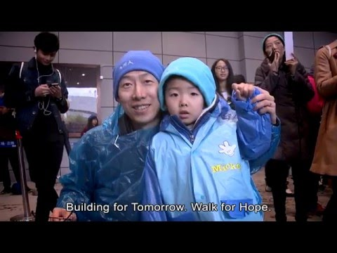 Building for Tomorrow, Walk for Hope (China)