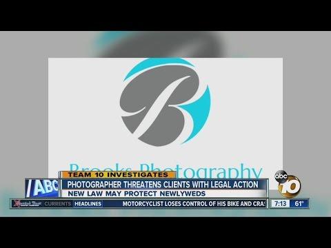 Wedding photographer under fire threatens suit