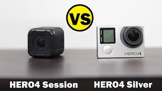 GoPro HERO4 Session vs GoPro HERO4 Silver - Whats Better For $400