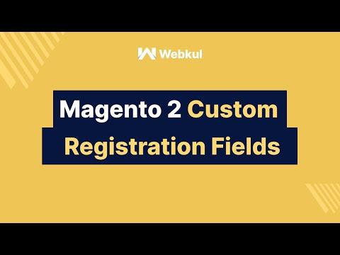 Magento2 Custom Registration Field