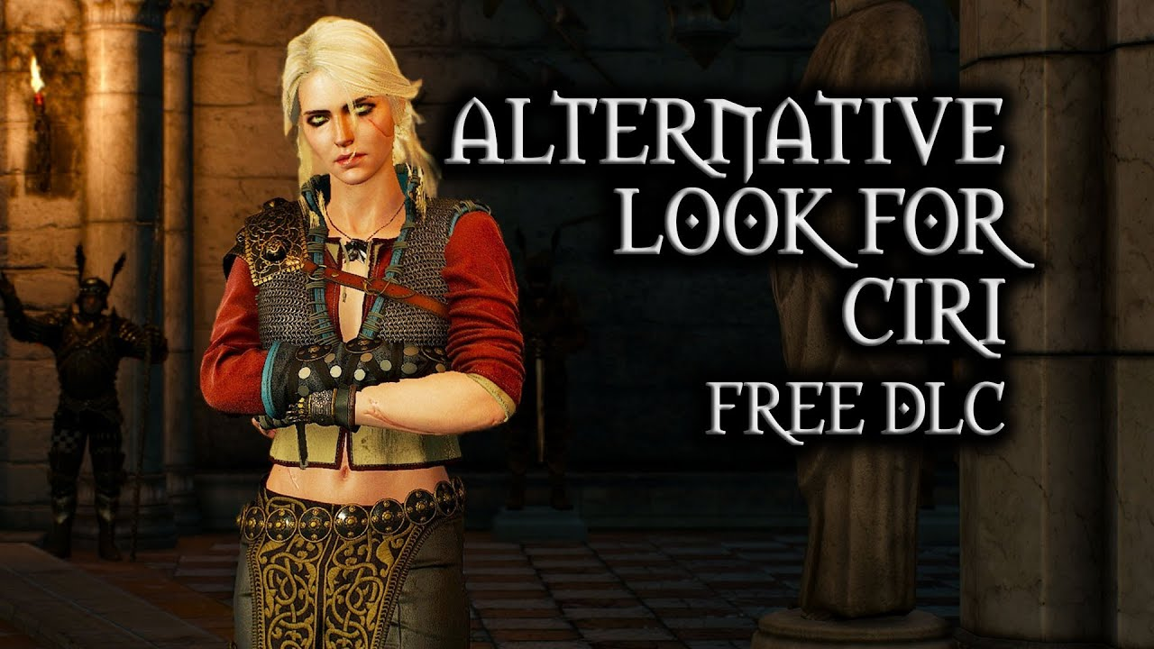 The Witcher 3: Wild Hunt - Alternative Look for Ciri (free DLC)