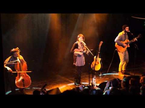 20120211  Kina Grannis - Fix You (Live @ Amsterdam)