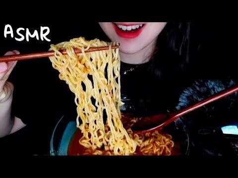 야식끝판왕!신라면(with 총각김치)먹방 리얼사운드 ASMR *korean Spicy Noodles(with Kimchi )* NO TALKING MUKBANG EATING SOU