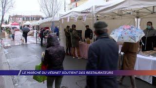 Yvelines | Le marché du Vésinet soutient des restaurateurs
