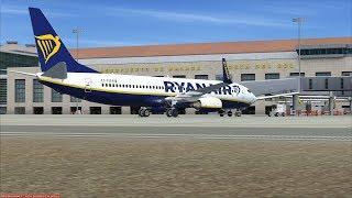 Ryanair Boeing 737-800   Aeropuerto De Malaga to Cork EICK 👨✈️🛫 FSX/Vatsim