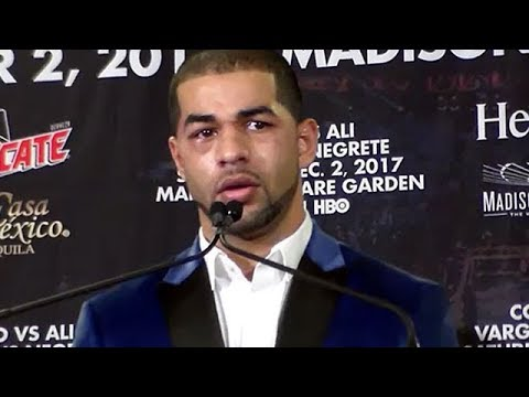 SADAM ALI POST-FIGHT AFTER BEATING MIGUEL COTTO; DEMANDS RESPECT FROM CRITICS AND NAYSAYERS