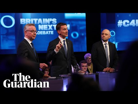 Tory leadership candidates take aim at no-show Boris in TV debate