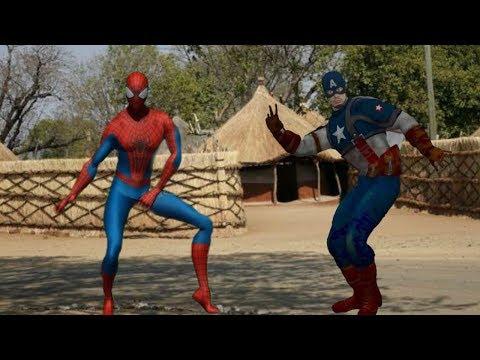 Desi Desi Na Bolya Kar Chhori Re I Spiderman I Batman I Captain America I Raju Punjabi I MD I KD