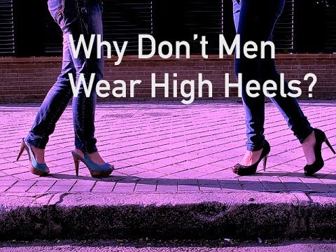 Boy Forced To Wear High Heeled Shoes