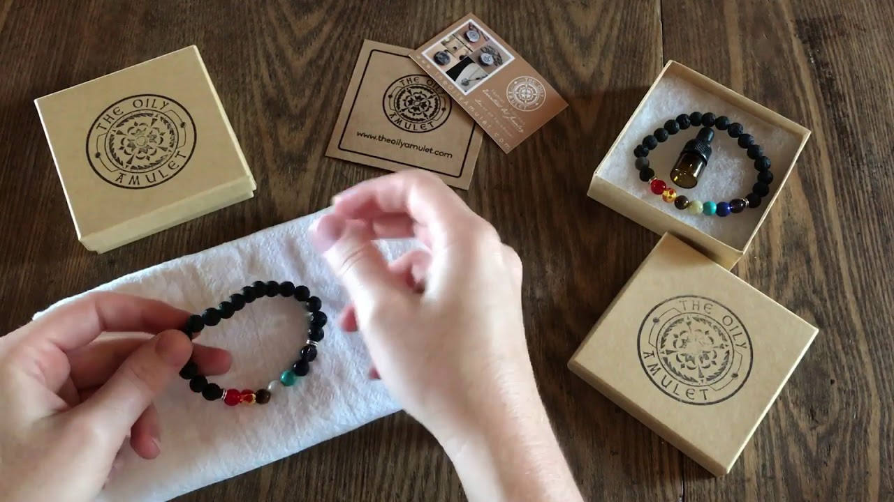 How To Using A Lava Bead Diffuser Essential Oil Bracelet Featuring