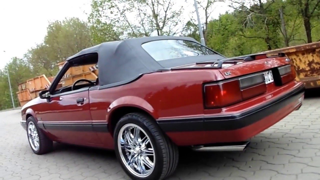 1991 Ford Mustang Lx 5 0 Convertible