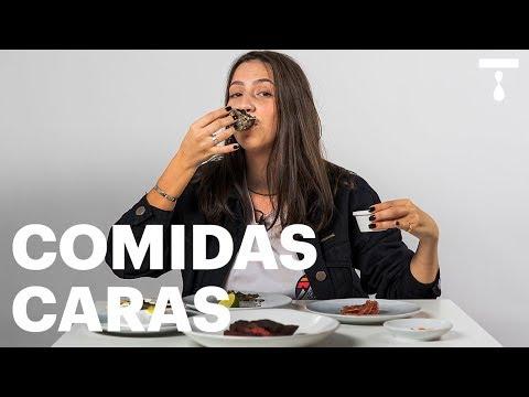LIZ PROVA COMIDAS CARÍ$$IMA$  Liz Pede Bis