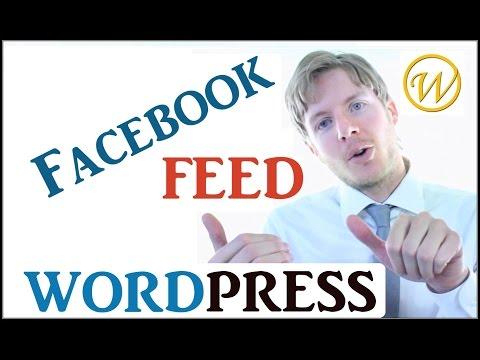 Facebook Feed on WordPress Website - Social Plugin