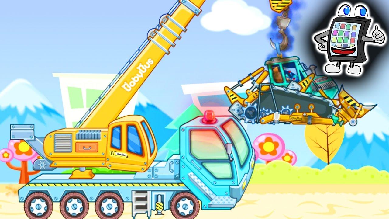 BABY BUS BAUMASCHINEN Heavy Machines - App für Android ...