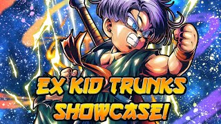 AMAZING SUPPORT! EX Kid Trunks Showcase! | Dragon Ball Legends PvP