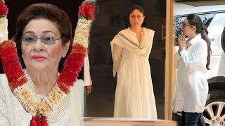 Kareena Kapoor Breaks Down In Front of Sister Karishma On Sudden News Of Dadi Krishna Raj Kapoor