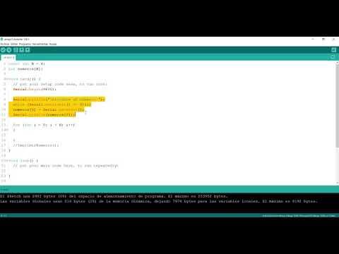 #5 Arrays Con Arduino (parte 2)
