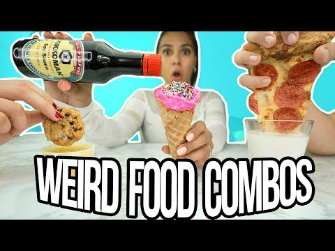 We Tried Weird Food Combinations that People Actually Love! ft. Dennis' Outlet