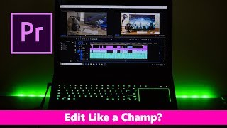 """Razer Blade Pro Video Editing Review - 17"""" 120Hz FHD GTX 1060  How does it perform in Premiere Pro"""