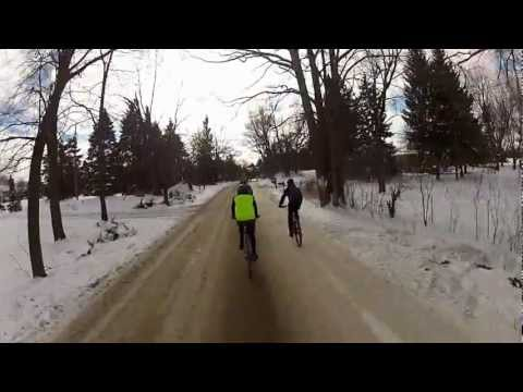 2013 Polar Rhino Ride - New Years Day Winter Cycling Fun with Flying Rhino Cycling Club