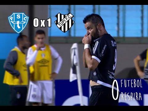 Paysandu 0 x 1 Tupi - Gol de Giancarlo - Campeonato Brasileiro Série B 2016