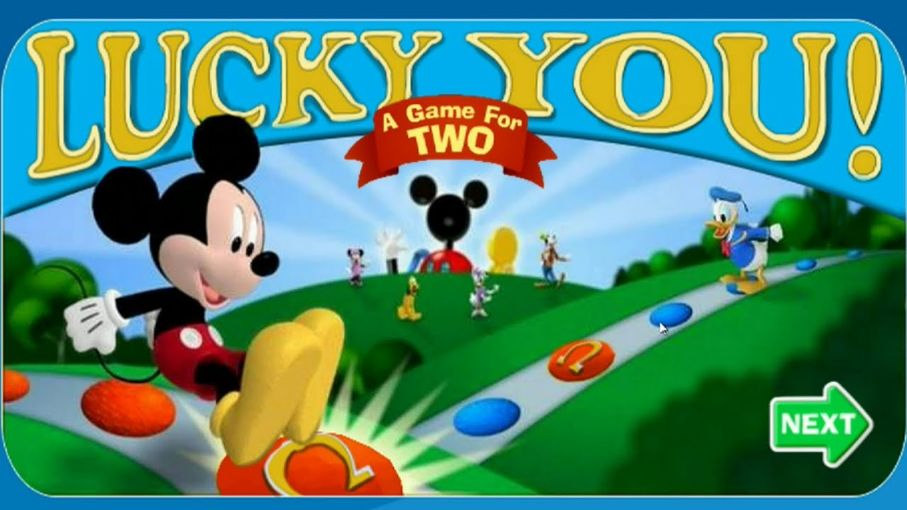 Mickey Mouse Clubhouse Lucky You Online Game For Two
