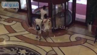 بالفيديو : الزمالك فى فندق الإقامة وفى الطريق للمران