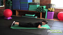 Superman Exercise for Lower Back Pain Relief & Increase Strength (Tucson Personal Trainer, Andree)