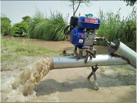 How to Make Water Pump 6 Inches With Engine Farmer Machine Diy Water Pump 6 Inch Borewell Machine