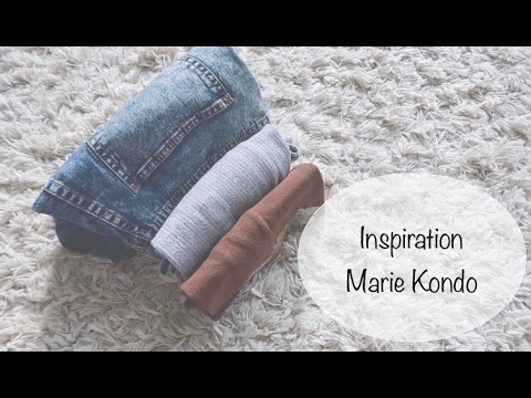 inspiration marie kondo youtube