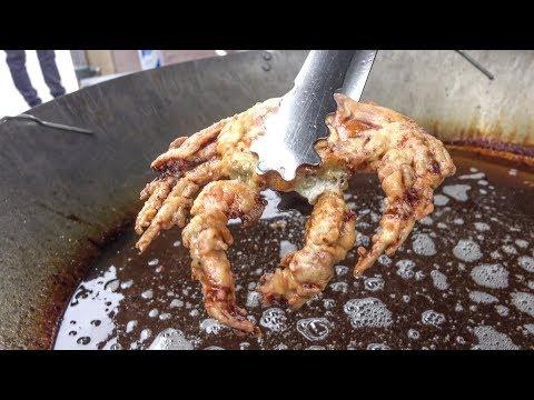 Soft Shell Crab, Deep Fried. London Street Food