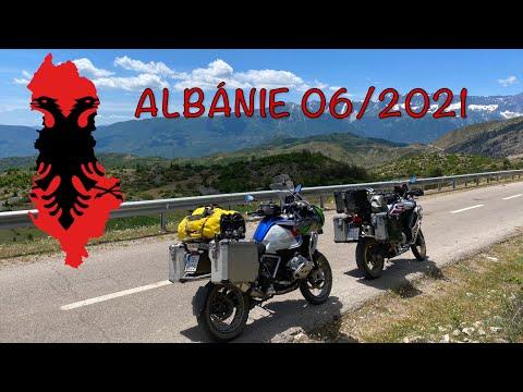 Albanie na motorce 2021