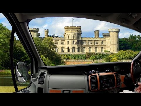 Camping at Eastnor Castle. 3 Youtubers. 3 Self-Builds. 3 Days.