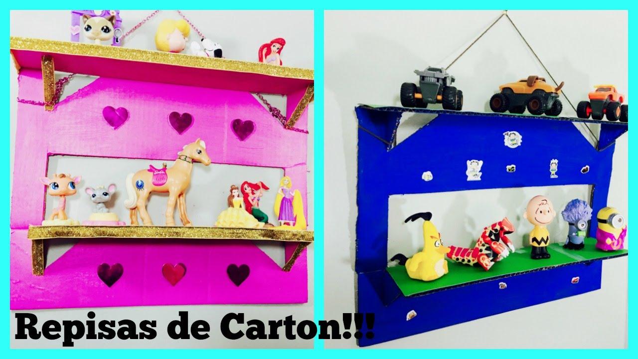 Cardboard Cartonhow Shelves Como Repisas De Hacer To Make y0wv8NnOPm