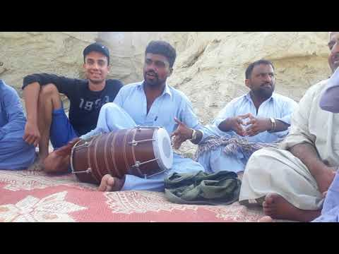 Uff man mabatan tao kasania chushe balochi song at hingol national park