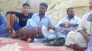 Uff man mabatan tao kasania chushe balochi song at hingol national park