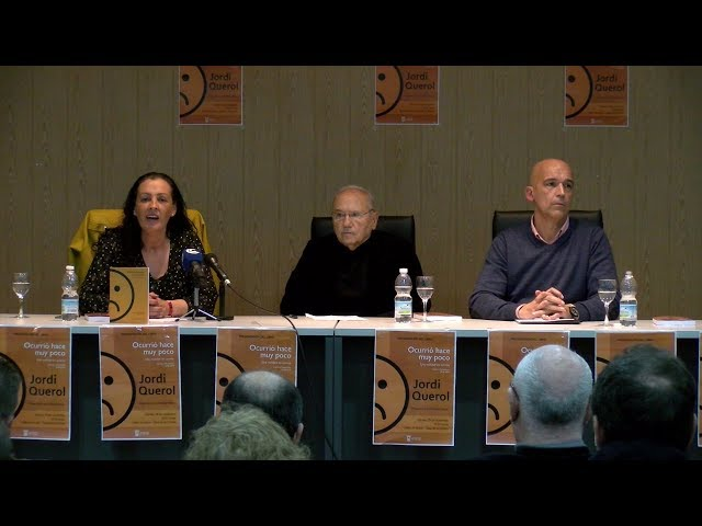 Jordi Querol presenta su último libro en Cartaya