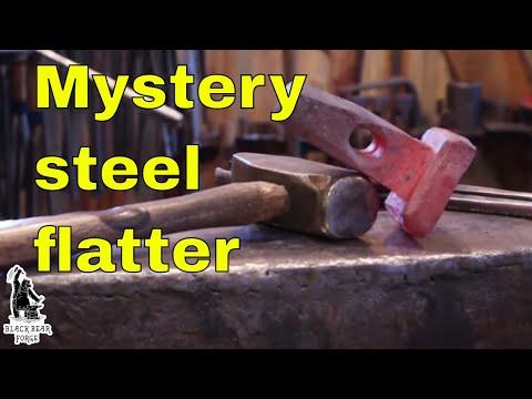 Blacksmith's Flatter From Mystery Steel - Part 1
