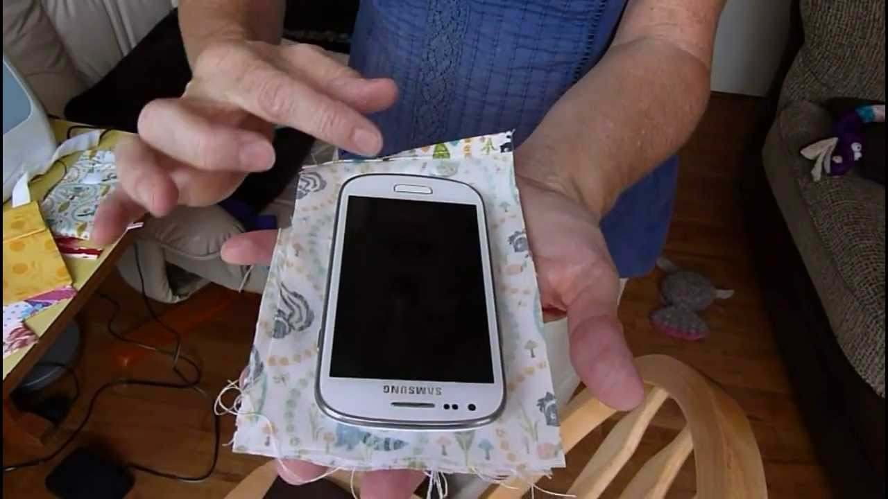 Making a case for a touch mobile phone 34