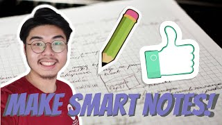HOW TO MAKE SMART NOTES! | PT3 STUDY TIPS