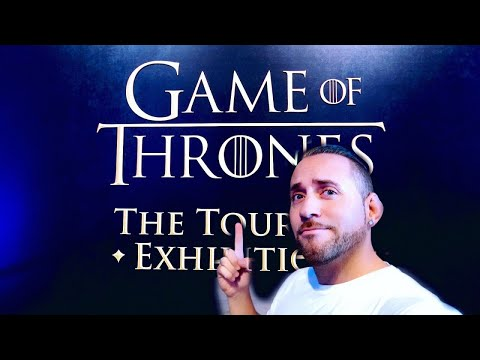 "Game of Thrones ""the touring exhibition Barcelona"""