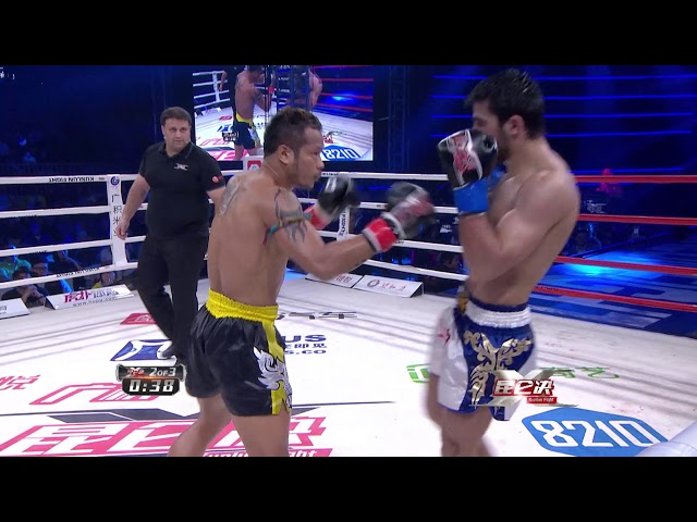 Yodsanklai Fairtex VS Marat Grigorian. A sick fight of Yods kicking spree!