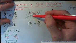 Solve Proportions -- Cr๐ss Multiply