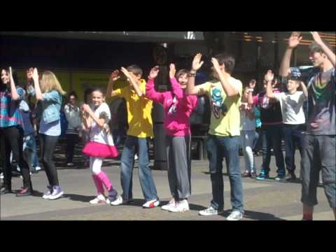 Burnley Flash Mob Dance